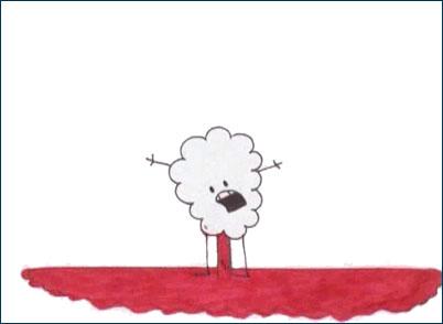 Rejected cartoons my anus is bleeding