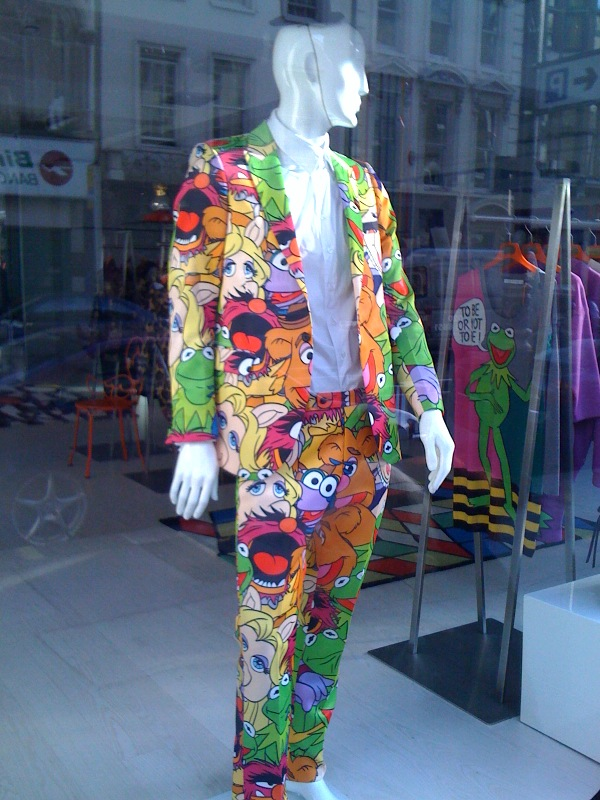 Life once again has meaning.  In suit form.