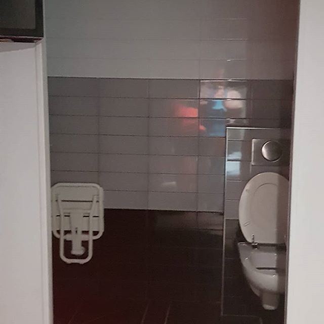 "Bonjour from the part of Paris where ""private bathroom"" means ""only the people in your room can watch you piss"". #cityofromance"