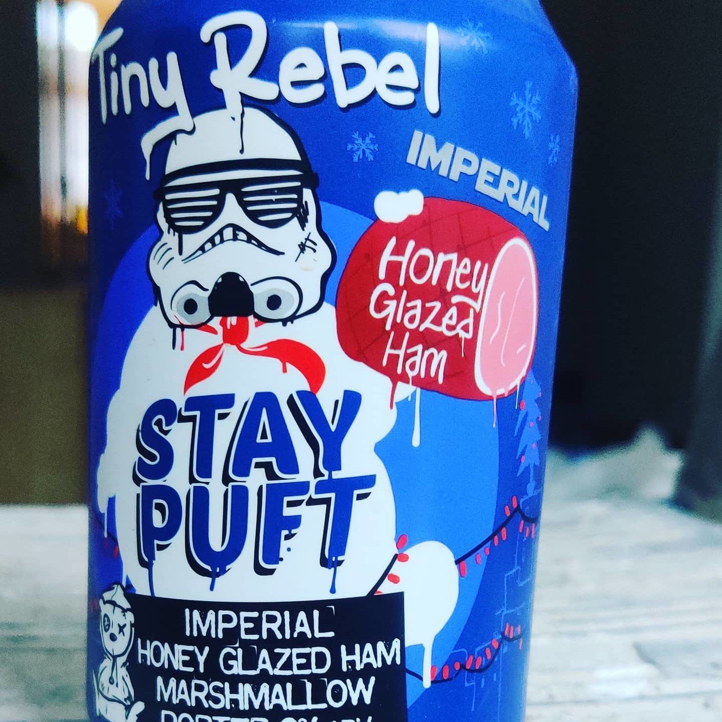 Finally. A beer made with the tasty flavour of ham. Because pork was that final missing ingredient. #idontevenknowwhatsgoingonanymore
