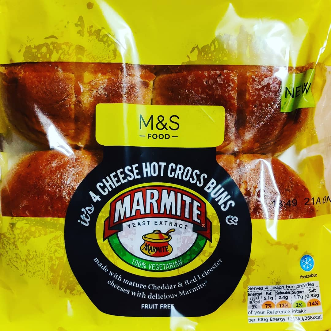 I ask you - is there ANYTHING Marmite's sweet, sophisticated, seductive flavour cannot improve?