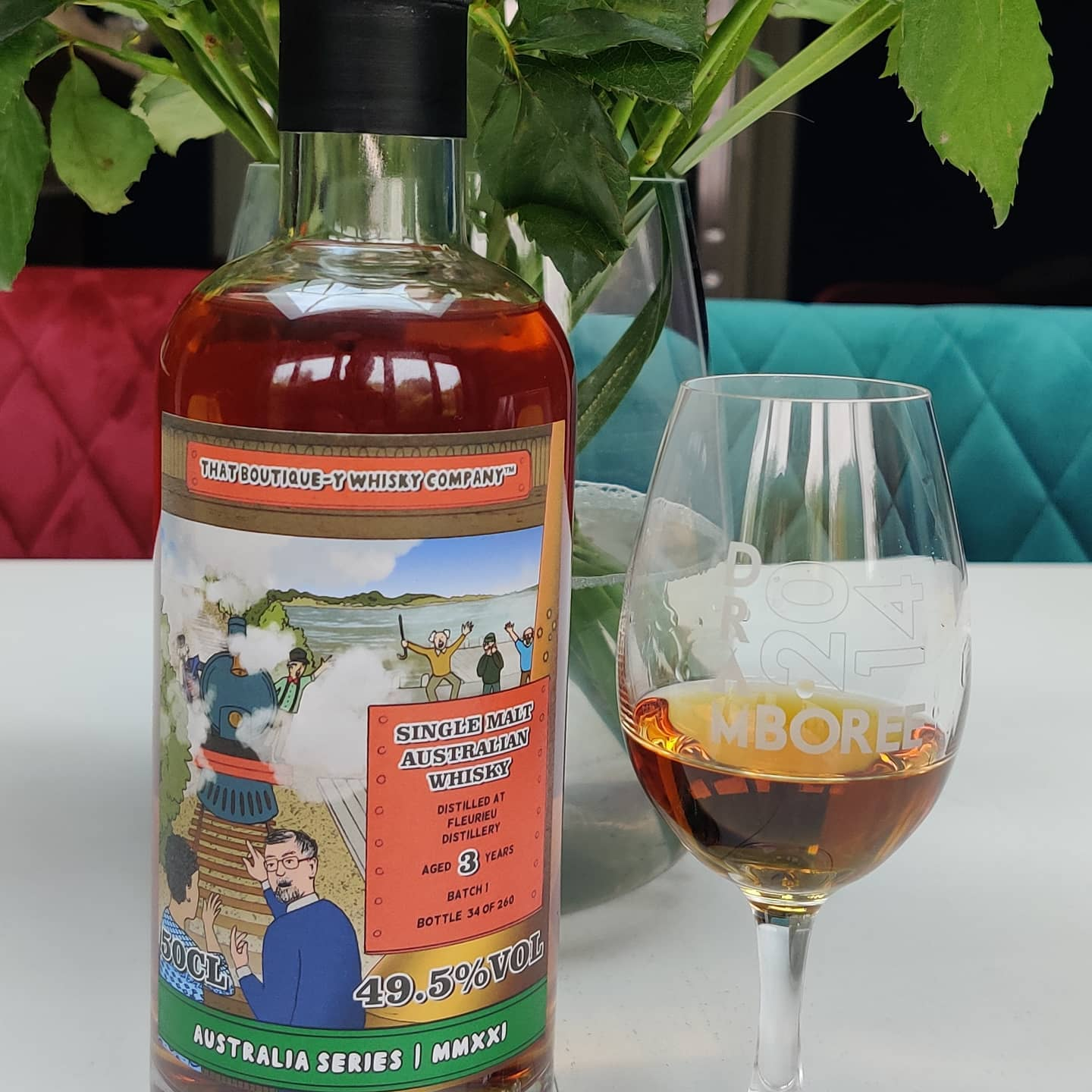 Acting on a tip-off from @vividscreen I made sure I snapped up this @boutiqueywhisky bottle from @fleurieudistillery - and I'm delighted to be able to say IT'S DELICIOUS! What a treat to be able to try a single malt whisky made an hour's drive from where I grew up.